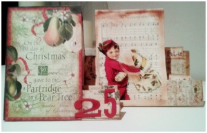Tarjetas Vintage Feliz Navidad