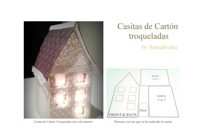 Casitas de Carton by Santadivina