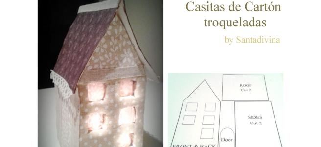 Casitas de Carton by Santadivina