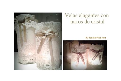 Velas elegantes Santadivina
